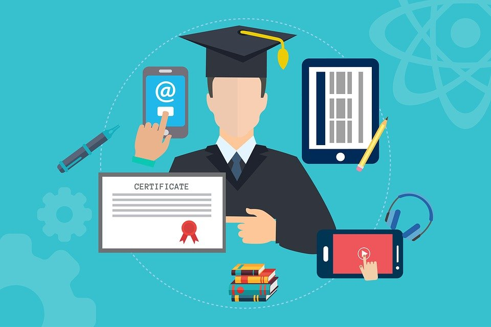 Online, Education, Tutorial, Certificates, Training