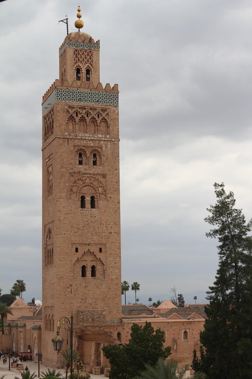 Mosque Marrakech Morocco Free Photo On Pixabay