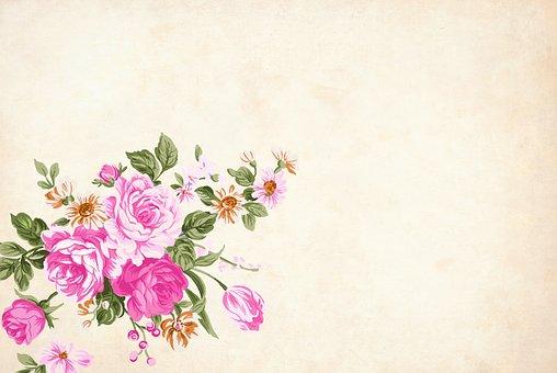 Flower, Floral, Background, Border