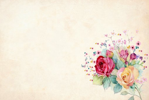Floral Background Hd Invitation