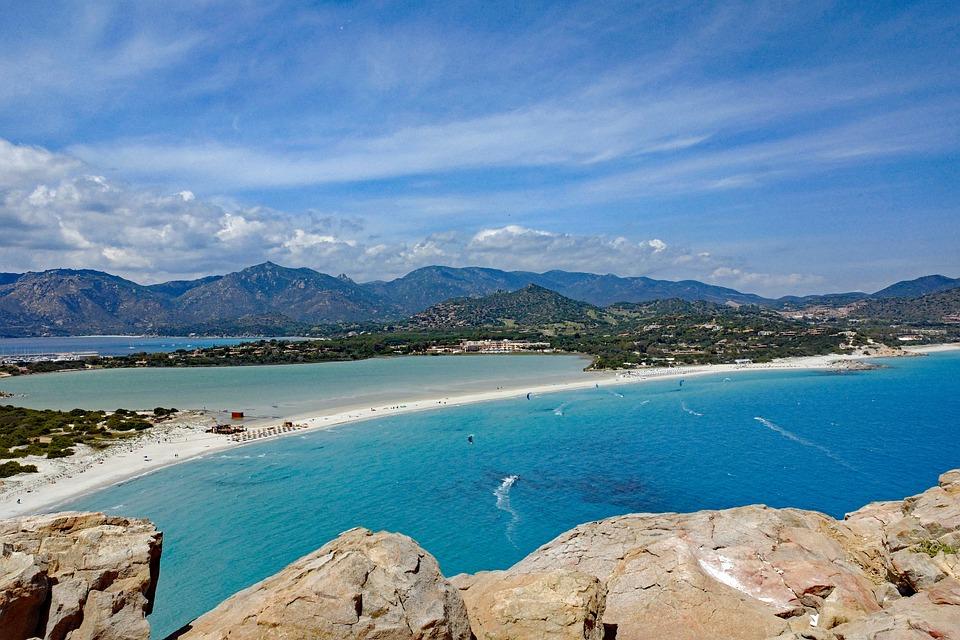 Spiaggia, Sardegna, Südostkünste, Villasimius