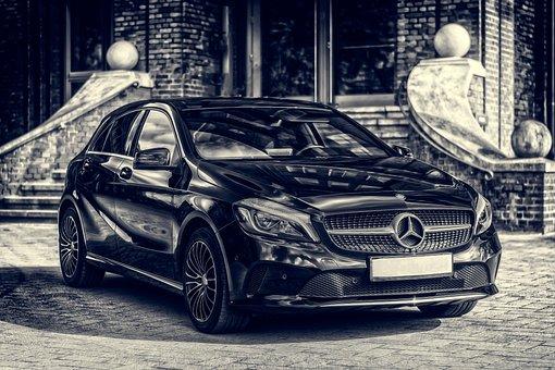 Mercedes, Daimler, Auto, Pkw