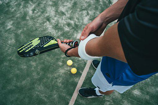 Tennis, Man, Background, Young, Summer
