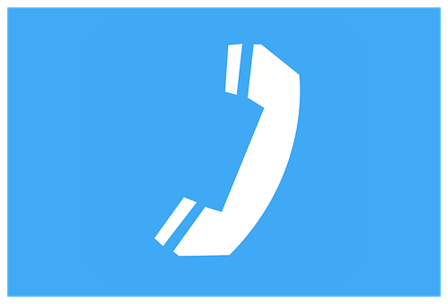 Clipart, Sign, Icon, Telephone