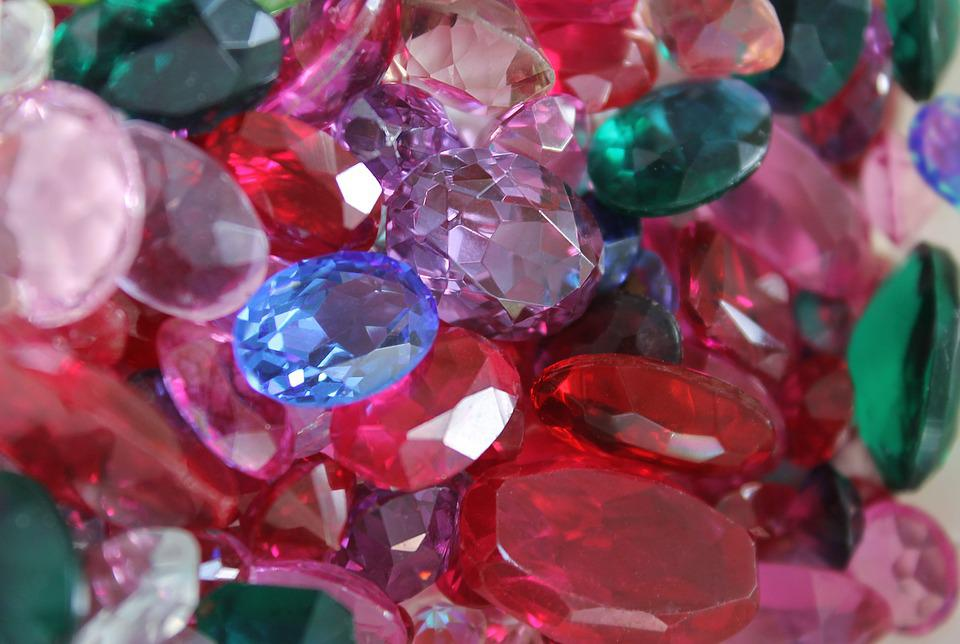 Gems, Jewelry, Rubies, Jewel, Faceted Diamond