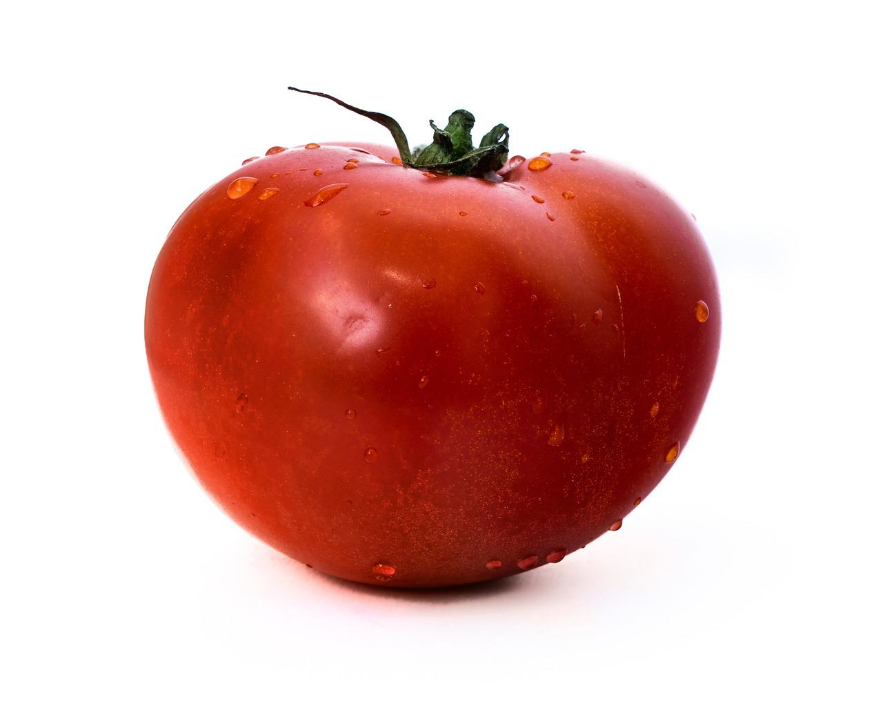 картинка томат на белом фоне