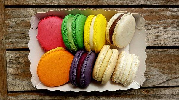Pastries, Sweetness, Macarons, Cake