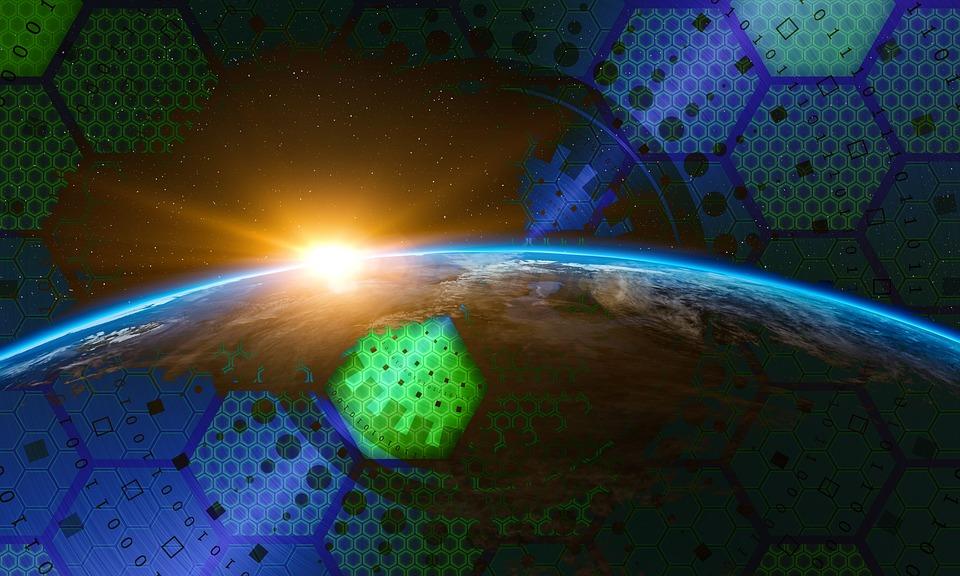Global, Réseau, Internet, Technologie, D'Affaires