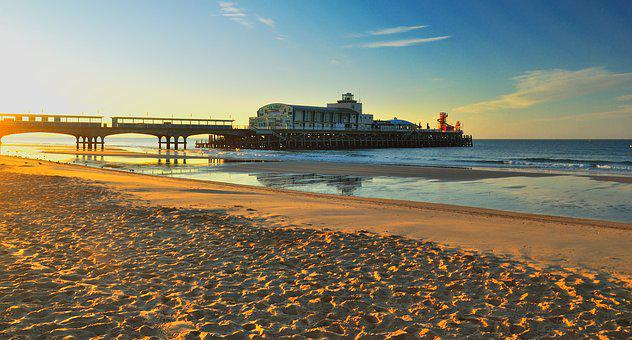 Bournemouth, Pier, Dawn, Bournemouth