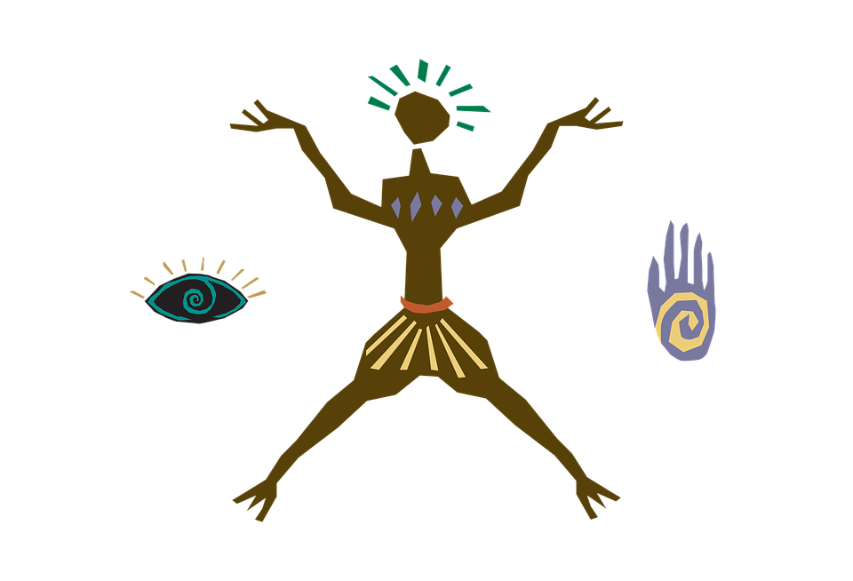 Clipart Primitive Human Simplified Early Stage