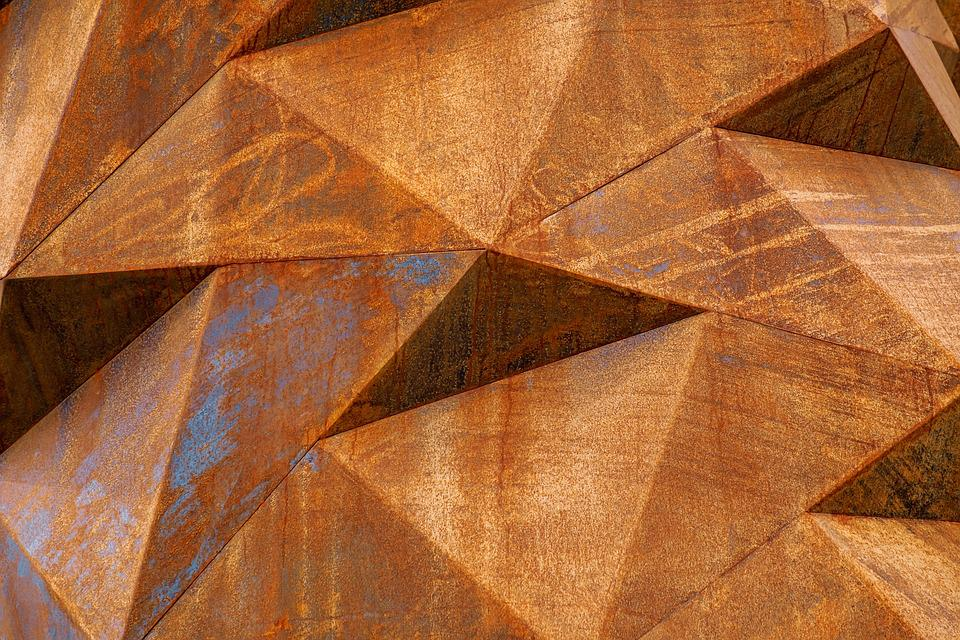 Borderrand corten staal cm metalen kantopsluiting