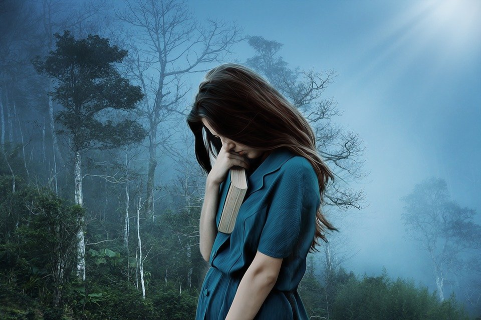 Girl Sadness Loneliness - Free Photo On Pixabay-9748