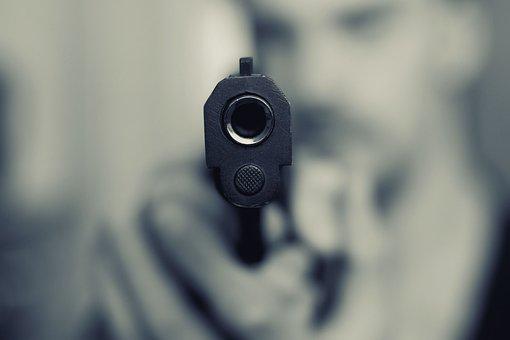 Pistol, Scam, Weapon, Gun, Attention