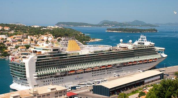 Liner, Cruise, Sea, Summer, Port