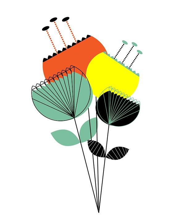 Flowers Modern Floral Free Image On Pixabay