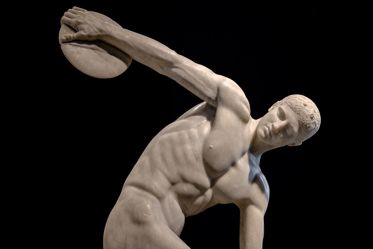 Греческий атлет картинка