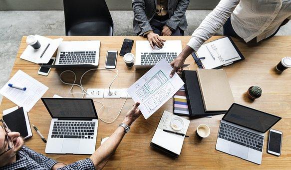 Aplicação, Negócios, Colaboração