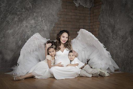 Malaikat, Hamil, Mengharapkan, Sayap