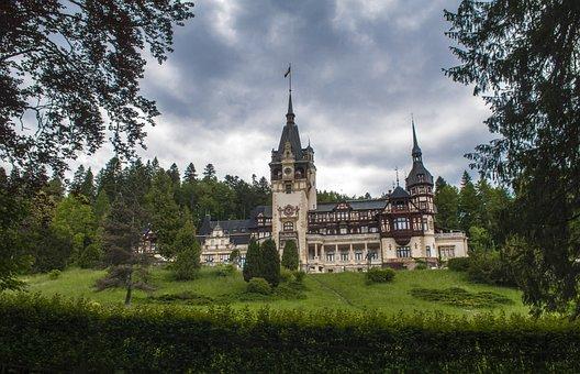 Peles, Château, Roumanie, Mihai J