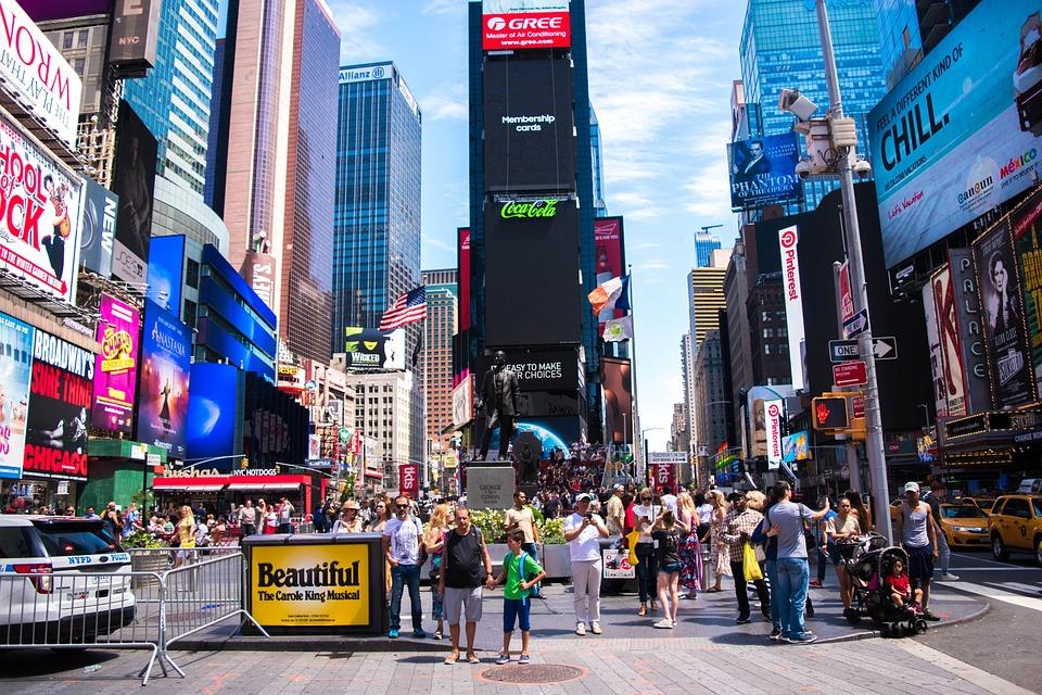 Thành Phố New York Times - Ảnh miễn phí trên Pixabay
