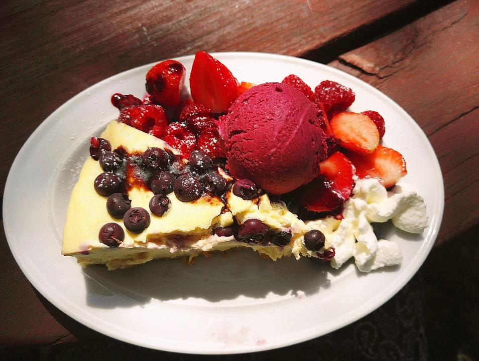 Kasekuchen Kuchen Eis Kostenloses Foto Auf Pixabay