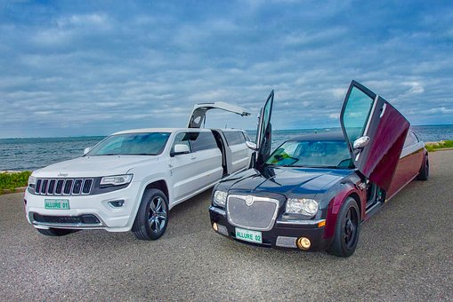 Limo, Chrysler, Bride, Luxury, Car