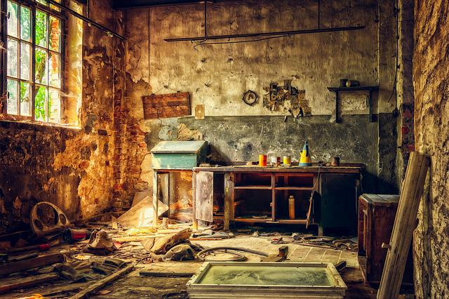 Workshop Lost Places Abandoned 183 Free Photo On Pixabay
