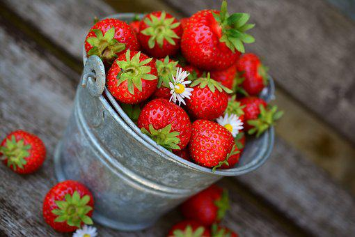 Strawberries, Fruit, Delicious, Food