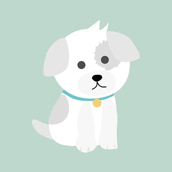 Dog, Puppy, Cute, Cartoon, Animal