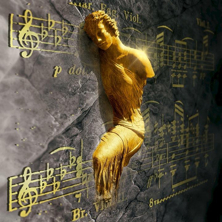 cd bort zene arany bra szobor fal fny
