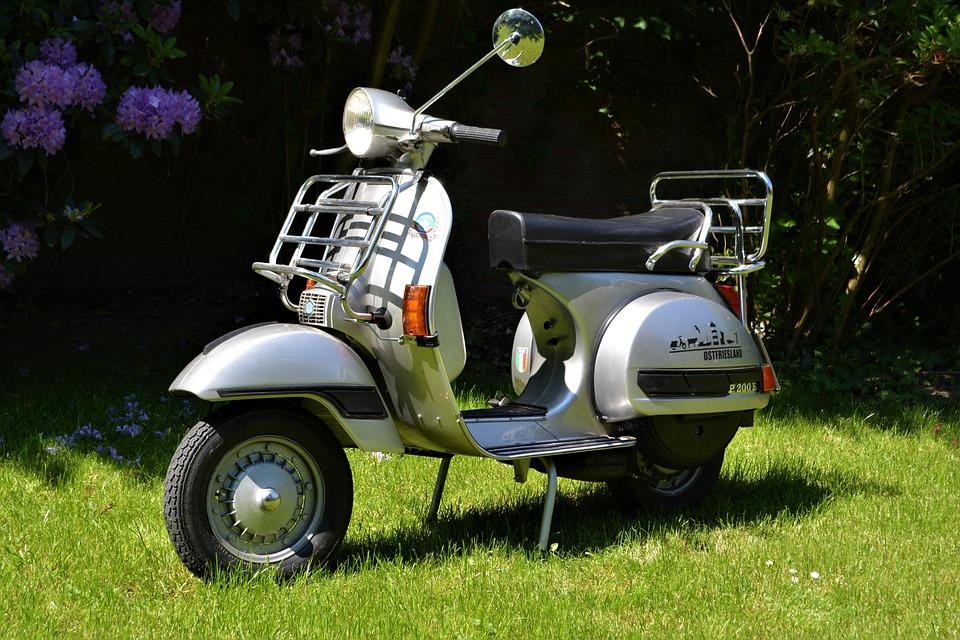 Hedendaags Vespa Oldtimer P 200E Motor - Free photo on Pixabay JV-89
