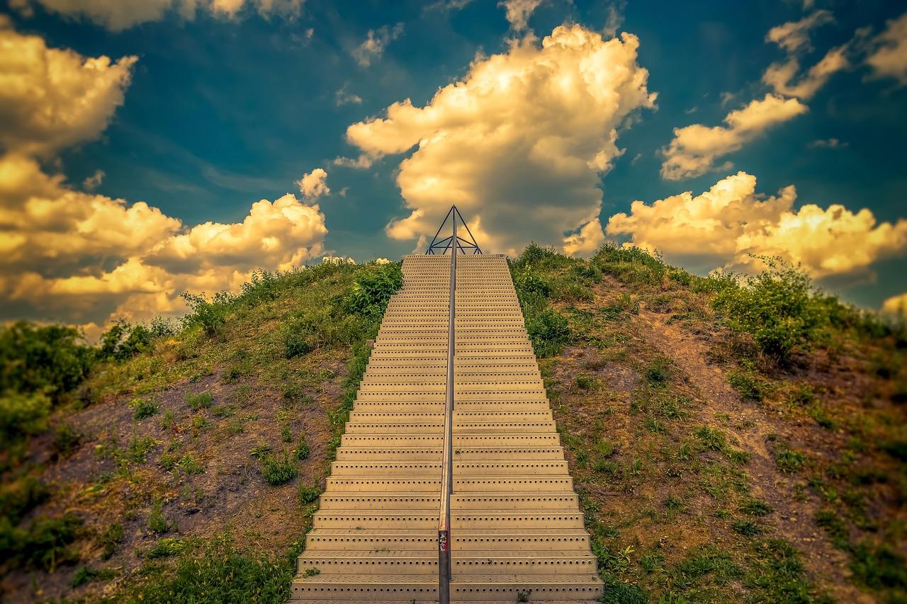 Картинки прямых лестница в небеса