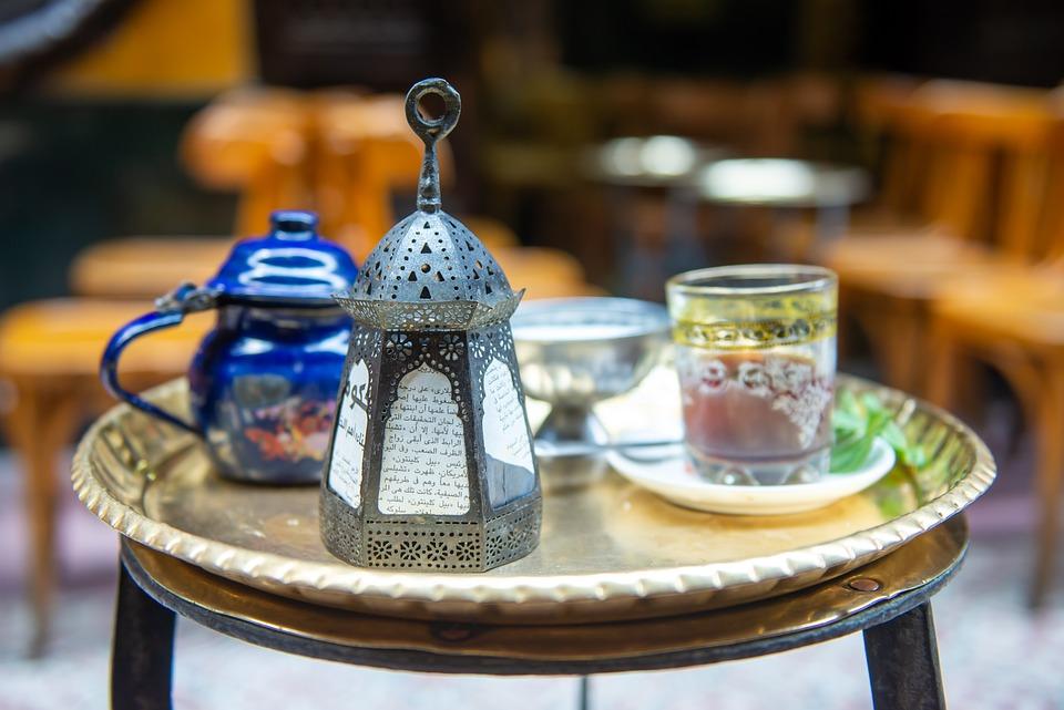 Lantern, Ramadan, Tea, Egypt