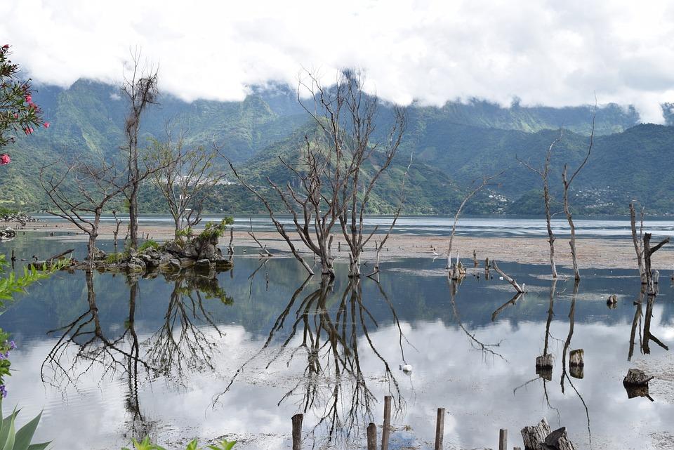 Gwatemala, Jezioro Atitlan, San Pedro, Jezioro
