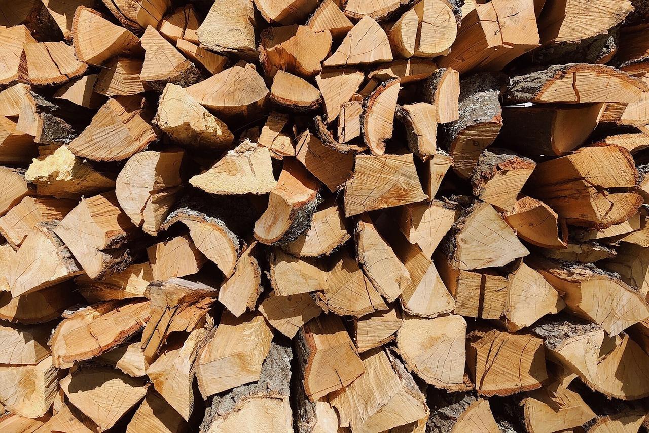 Колотые березовые дрова картинки