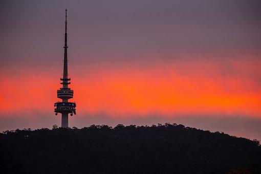 Sunset, Sky, Orange, Nature, Canberra Top 10 Cities to Live in Australia in 2020