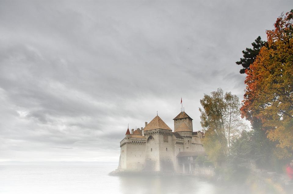 Zamek, Magia, Atmosfera, Mgła