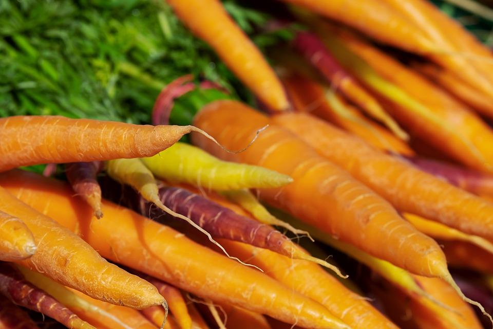 Carote, Vitamine, Nutrizione, Verdure, Alimentari