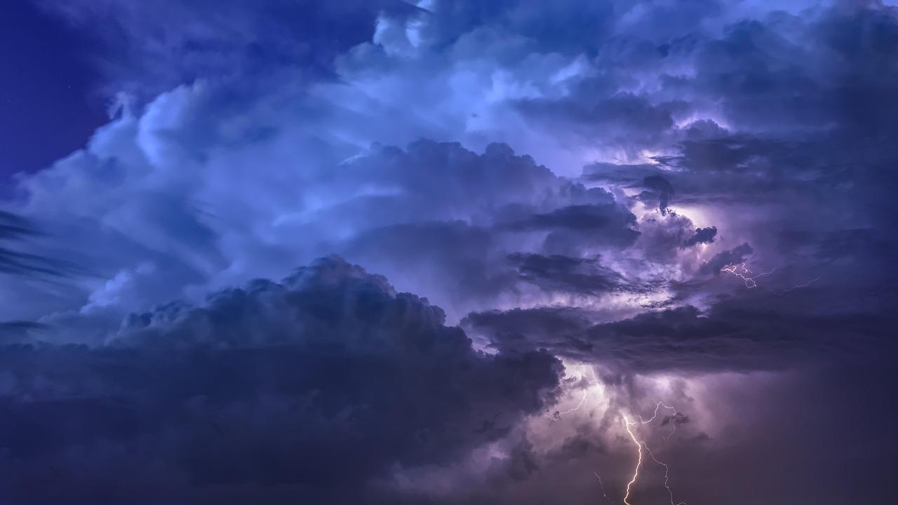 雷雨 点滅 泊 - Pixabayの無料写真