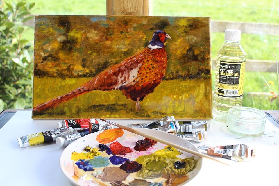 Oil Painting Artist Studio - Free photo on Pixabay