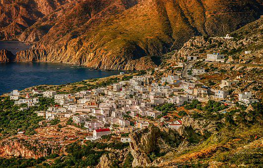 Nature, Karpathos Island, Village