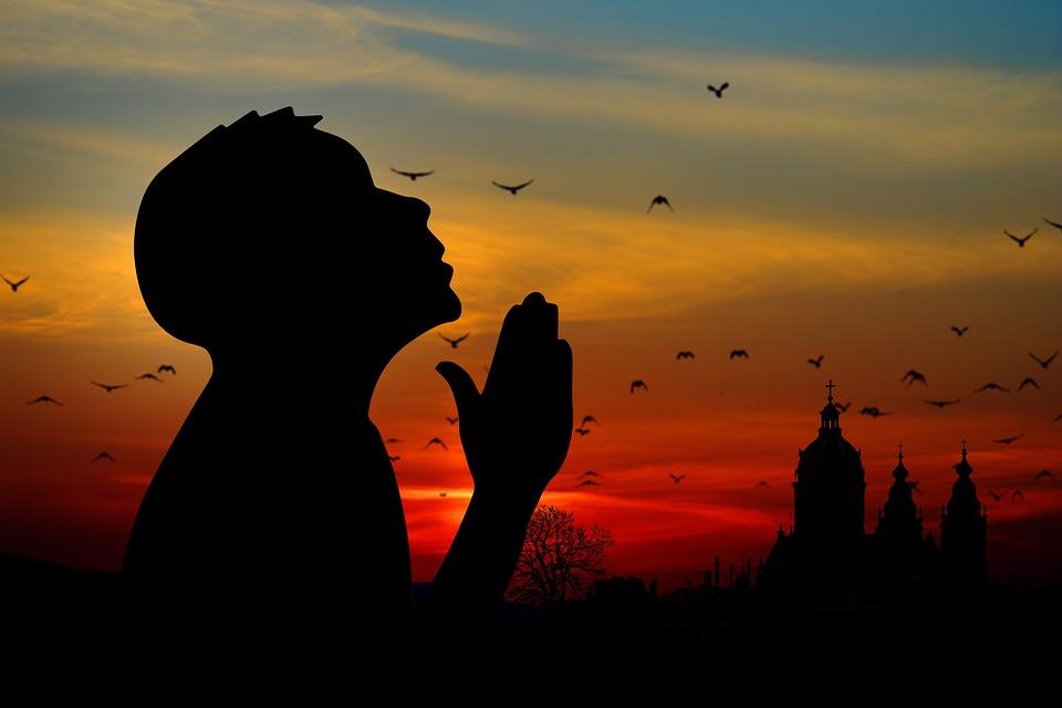 Религия, Вера, Молиться, Человек, Церкви, Восход Солнца