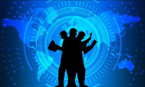 ビジネス, 技術, 通信, ネットワーク, 情報, 企業