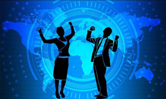 ビジネス, 成功, ビジネスマン, 女性実業家, 実業家, 企業
