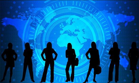Mulheres, Empresária, Professional