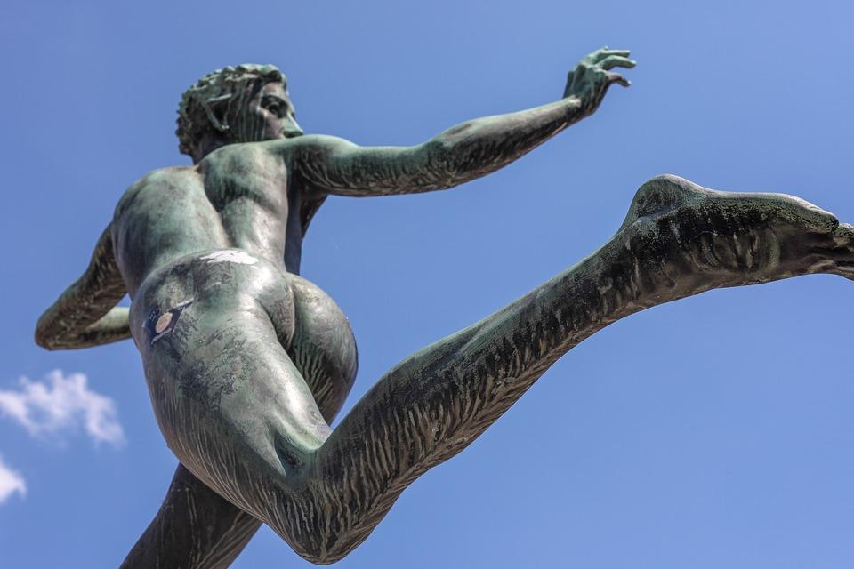 像, 人間, 運動, レース, 実行, 逃げてください, スプリント, マラソン, 古代, 彫刻, 逃げる