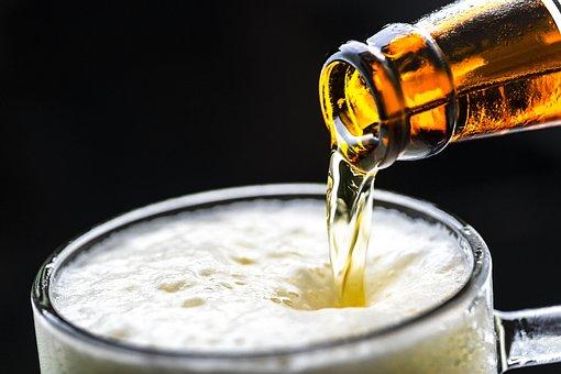 ビール, ドリンク, 醸造, バブル, 祝賀, 冷, 飲酒, ラガー, 液体