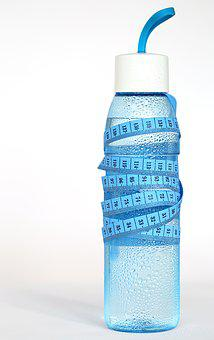 Water, Clean Water, Blue, Bottle, Tape