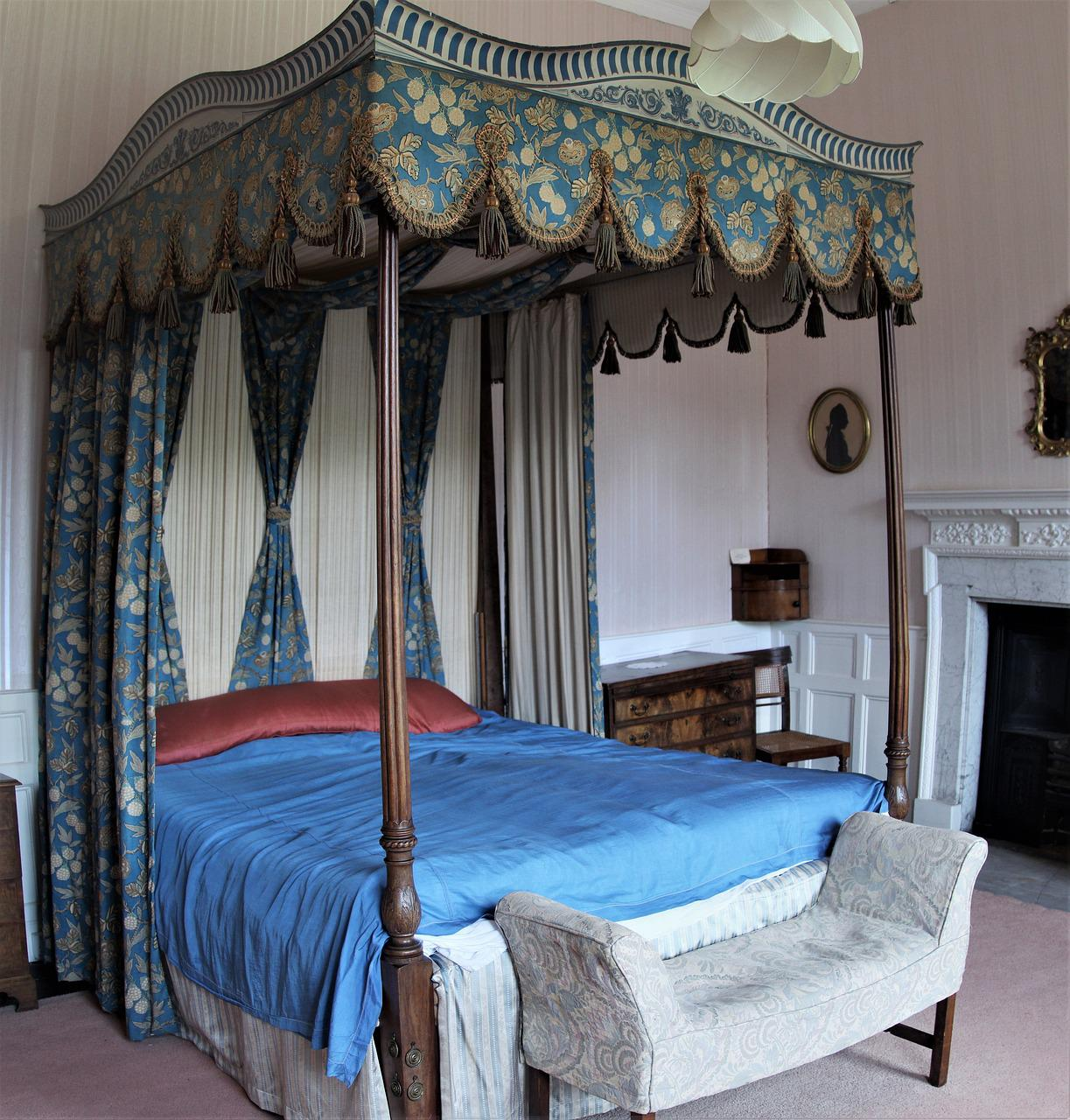 Four Poster Antique Victorian Free Photo On Pixabay