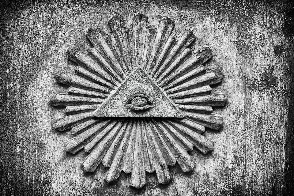 Symbol, Eye, Illuminati, Secret Society, Mysterious نظريات المؤامرة